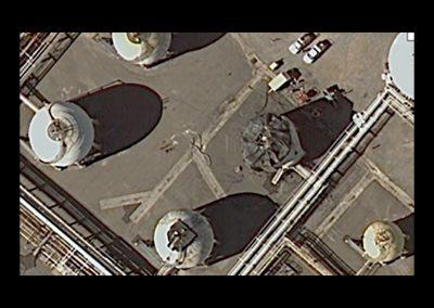 Chevron Richmond, LPG Solar Heat Load Tank Application (Satellite)