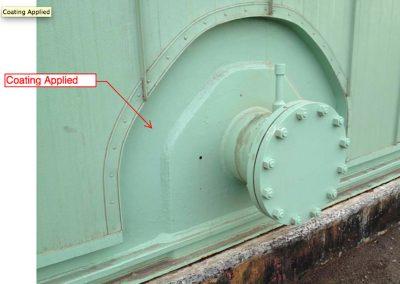Chevron Tank Penetration, Hybrid Insulation