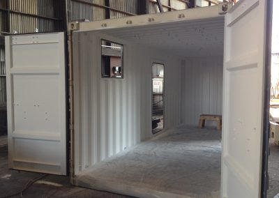 Container for Sonar Equipment Storage & Work Shop