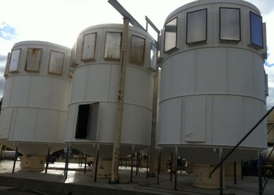 Bag Houses Anti-Condensation