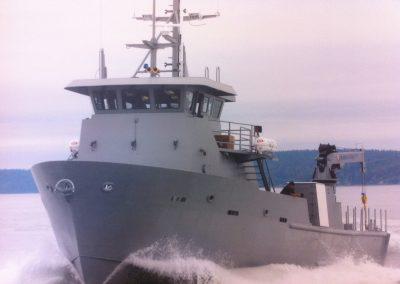 Modutech Marine Torpedo Recovery Boat