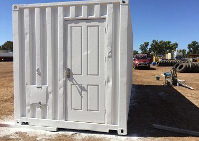 Container Exterior - Australia