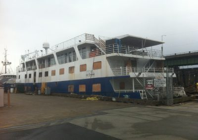 Un-Cruise Safari Voyager At Fisherman's Terminal Before Refit