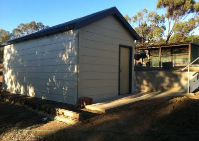 Storage Shed in Fire Zone - Australia