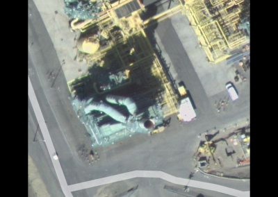 Valero Benicia Refinery Diffuser Ducting (Satellite Photo)