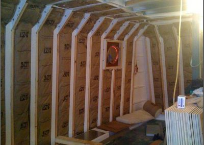 Western Towboat Cabin Framing